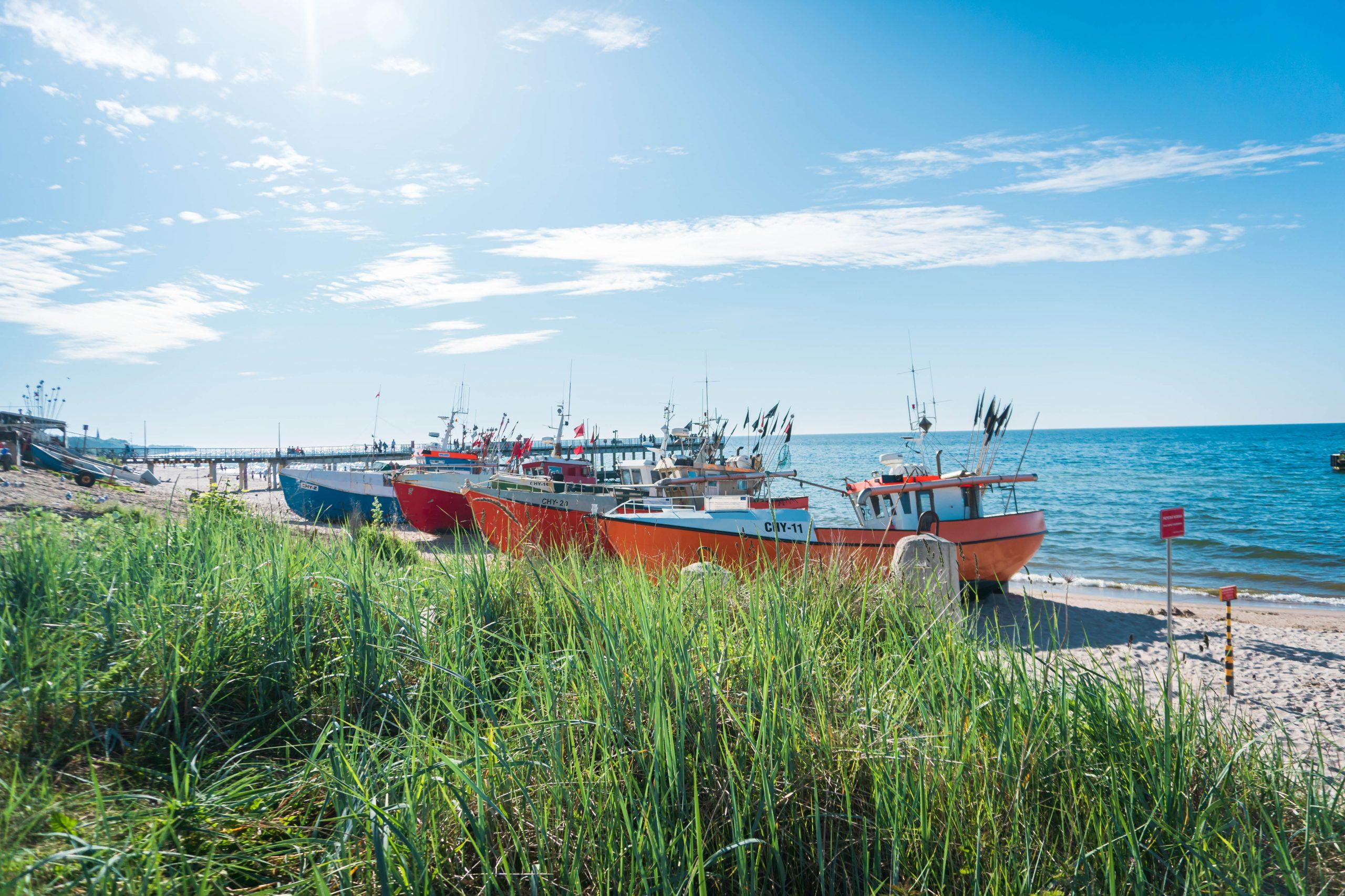Chłopy wyjątkowa wioska rybacka w Polsce